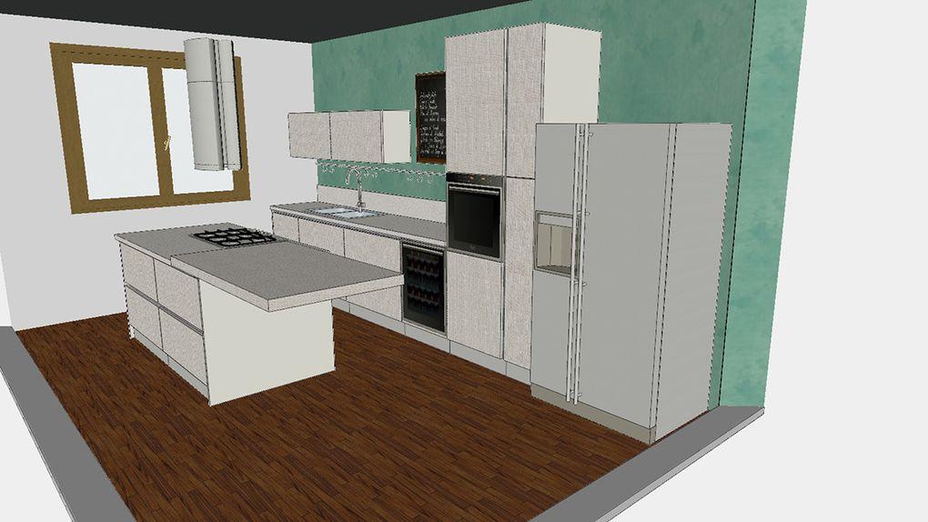 Ristrutturazione di appartamento in edificio storico, con particolare attenzione a definire ogni area e funzione della casa coi colori