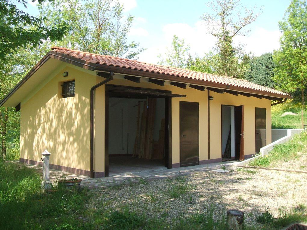 Ampliamento e ristrutturazione di un edificio di servizio a villa padronale sita in Via Donini a Pianoro (BO) -2009/2010- Impresa edile: 2G Costruzioni