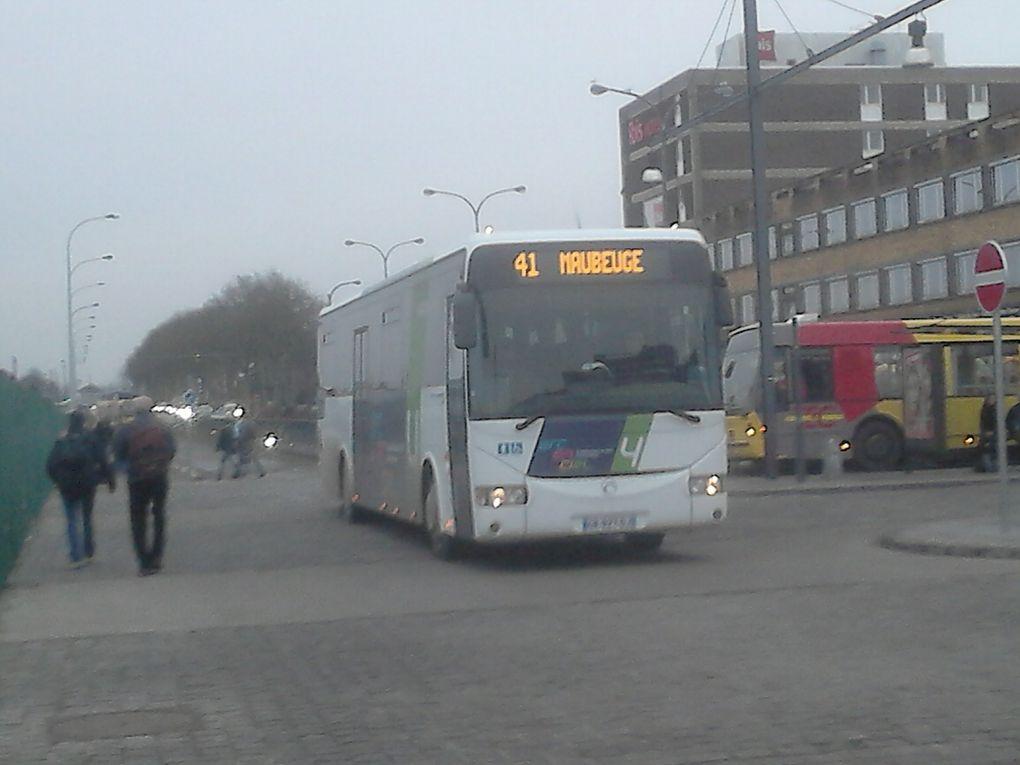 Les bus montois(exterieur/interieur)