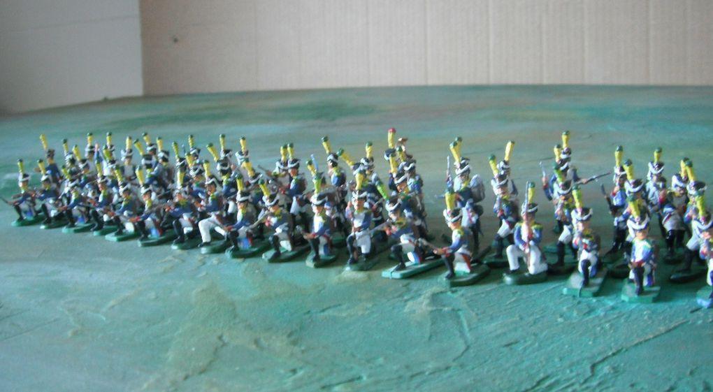 Elle représente la masse anonyme de l'armée napoléonienne