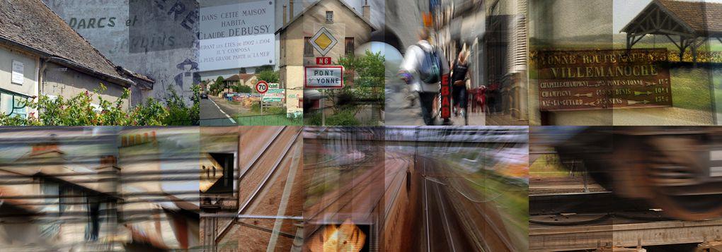 Un voyage photographique le long de la Nationale 6 du Mt.Cenis à Paris