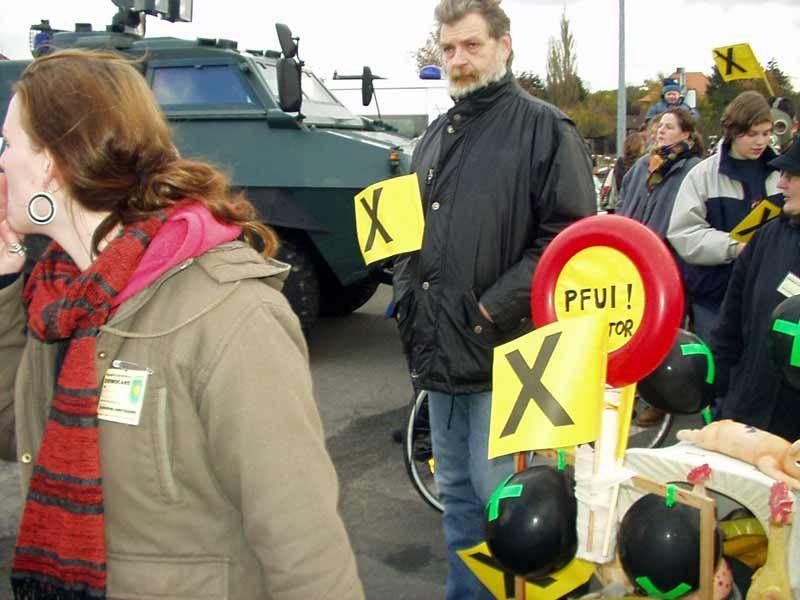 Bilder von der Auftaktdemo in Dannenberg