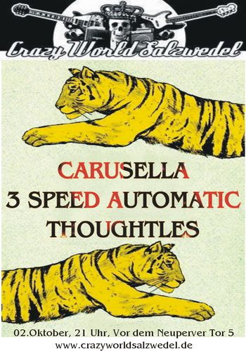 3 SPEED AUTOMATIC + CARUSELLA + THOUGHTLESS