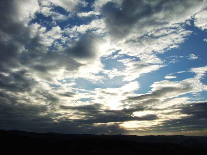 photos de ciels...Nuages, arc-en-ciel...