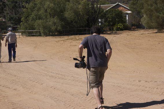 Créateur des images vidéo pour la Terre et les Hommes en Afrique du Sud