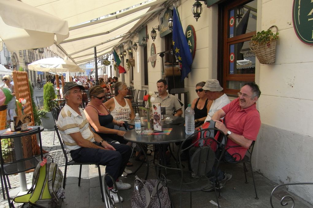 sortie annuelle de l'association j'art d'ain partagé en Italie: la Venaria Reale