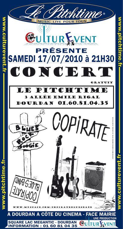 Les affiches des artistes qui sontpassés sur la scène du Pitchtimede 2009 à 2013.