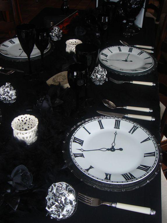 Album - table-baroque-noire-et-blanche
