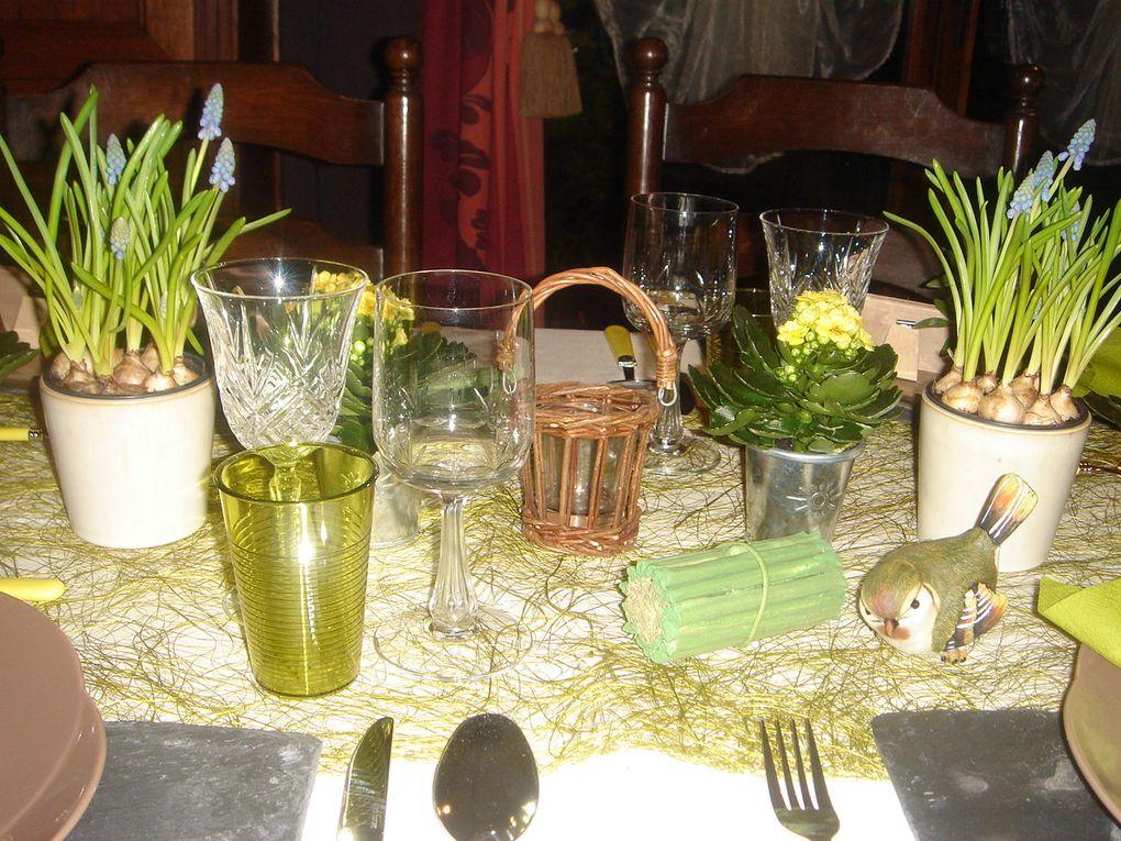 Album - mes tables &quot&#x3B;jardins et campagne&quot&#x3B;