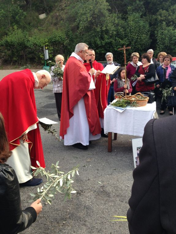 Messe des Rameaux à Ste Marie Madeleine