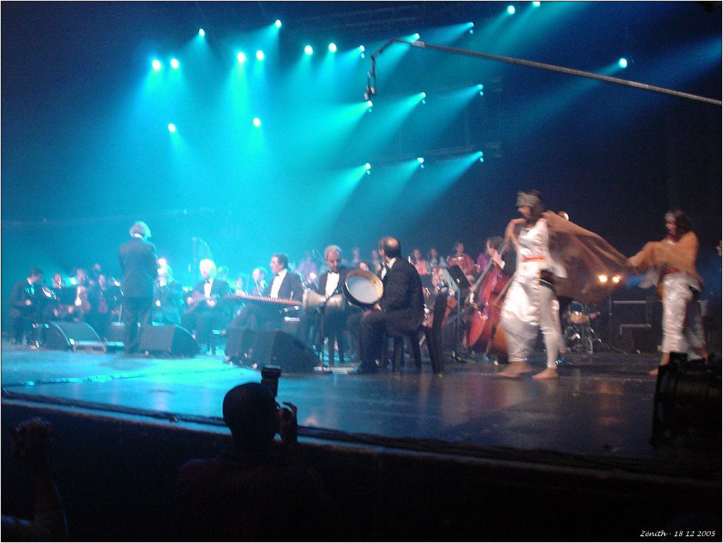Concert spécial Kabylie, en hommage à Cherif Kheddam, avec Idir, Takfarinas, Djura, Karima