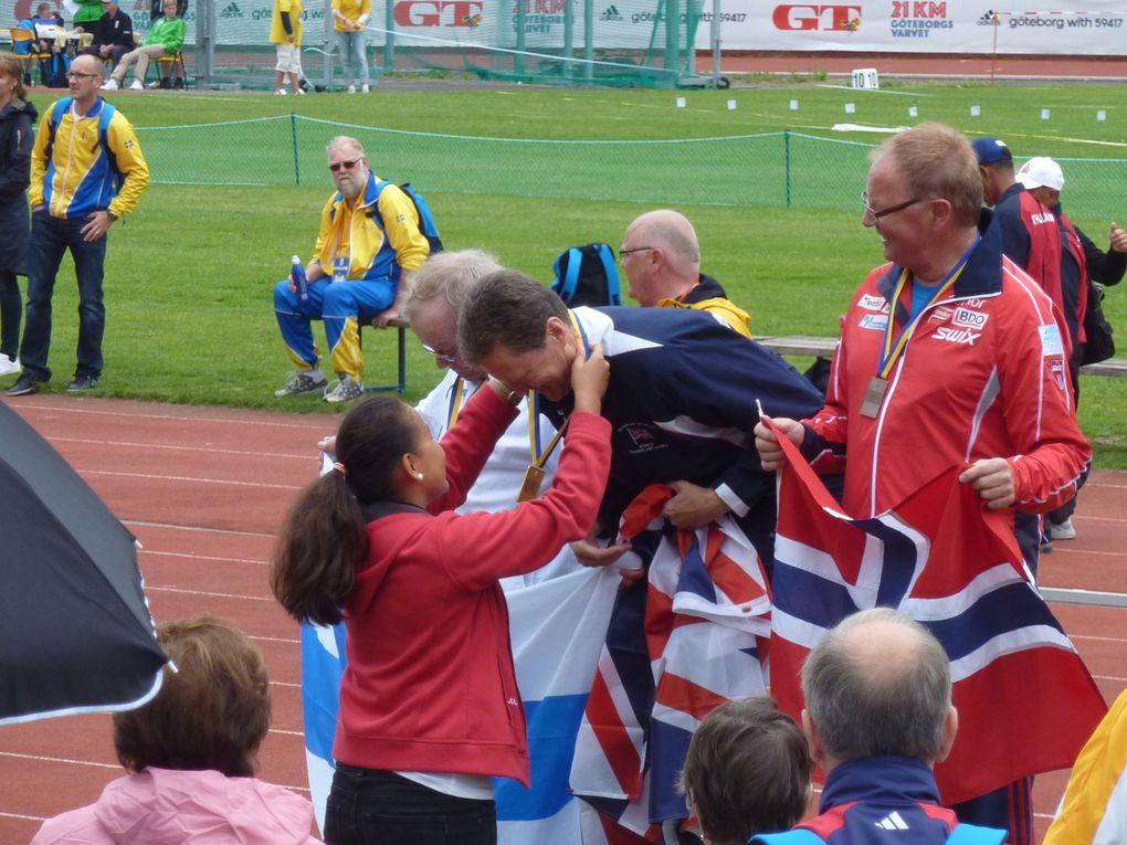Bilder von den LA-Bewerben der WTG 2011 in Göteborg.Fotos: Team Austria