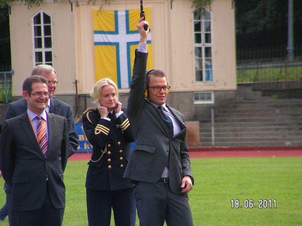 Das Highlight des Eröffnungstages: Prinz Daniel zu Gast bei den World Transplant Games in Göteborg.Fotos: Team AustriaFotos: Team AustriaFotos: Team Austria
