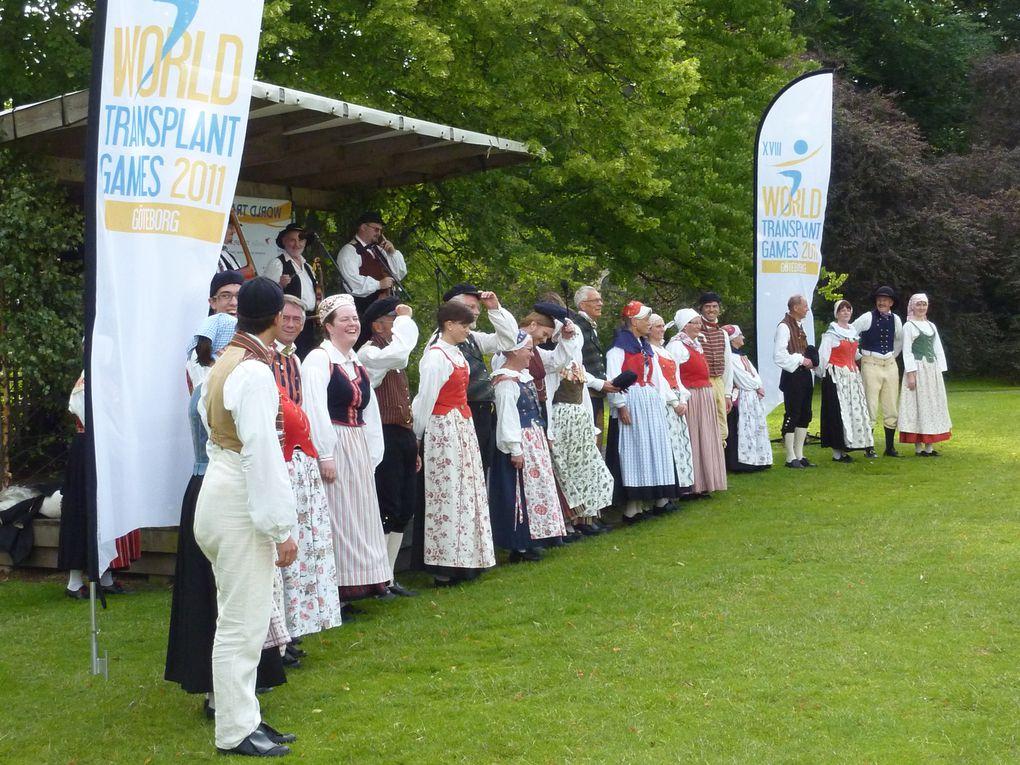Fotos von der Schlusssfeier der WTG 2011 in Göteborg.Fotos: Team Austria