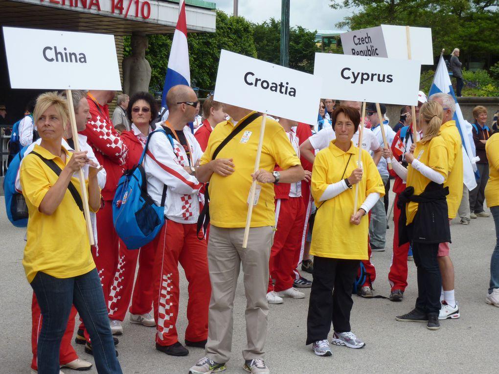 54 Nationen aus allen Kontinenten waren bei den WTG 2011 in Göteborg vertreten