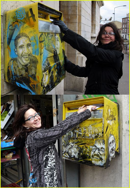 Mises en situation, autoportraits, portraits, art de rue, graffiti...