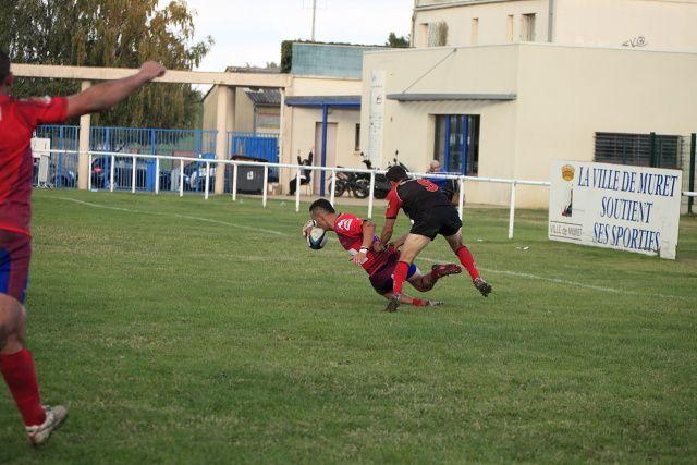 Match opposant l'AMXV contre Aire sur Adour du 30/10/2011