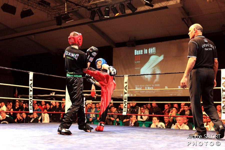 Boxe in Défi XIV 2013