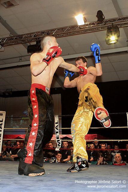 Boxe in défi XIIITournoi des -76Kg (3x2)Yannick TAMAS vs Uros ZDRAVKOVIC