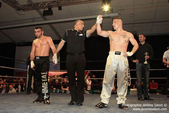 Boxe in défi XIIITournoi des -86KgMickael LOPEZ vs Vincent PETITJEAN