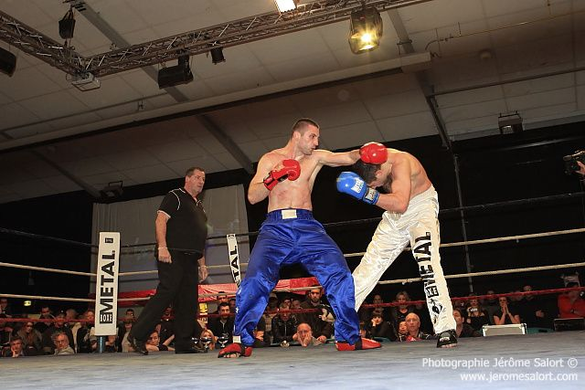 Boxe in défi XIIITournoi des -86Kg (3x2)Jean-Luc BENOIT vs Milos NESKOVIC