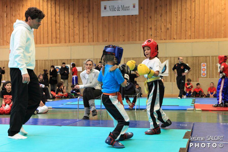 Compétition de full contact à Muret le 19 janvier 2013 partie 1