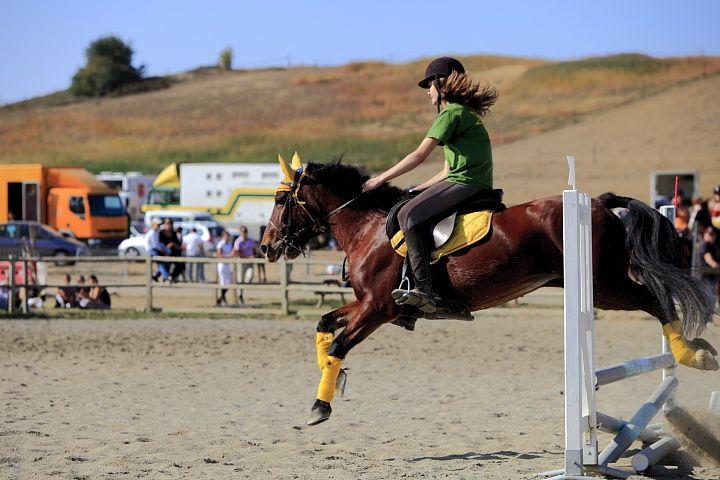 Concours équitation au club Capricorne à Saint-Lys (31) Partie 1