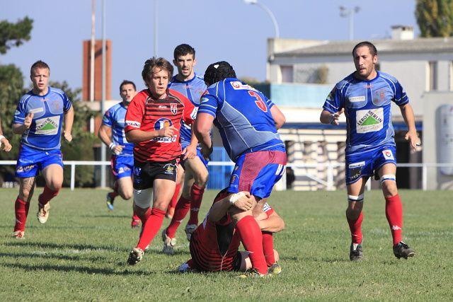 Match de lever de rideaux opposant l'AMXV contre Aire sur Adour le 30/10/2011