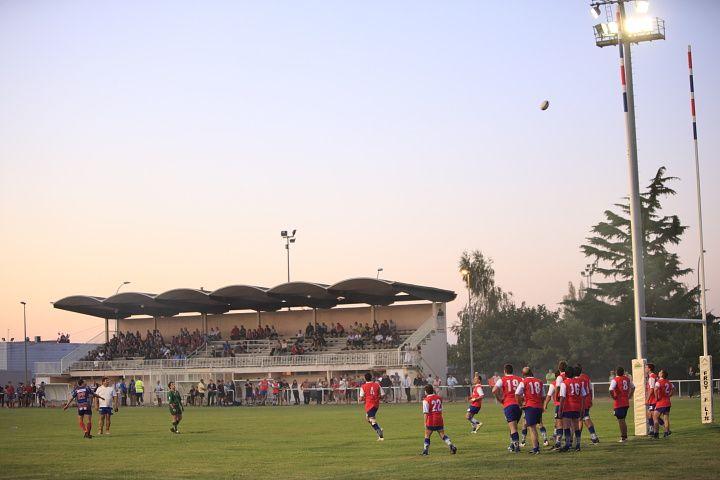 Match de levé de rideau entre l'Avenir Muretain contre Gan en réserves..2ème partie