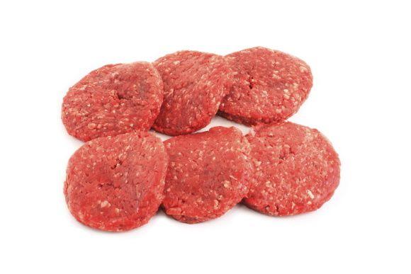 Pièces de viandes principalement sur fond blanc pour la réalisation de catalogues et publicités