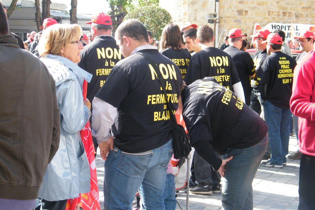 Une manifestation unitaire sous le signe de l'espoir, la veille des élections du 6 mai 2012, le combat ne prendra pas fin pour autant...