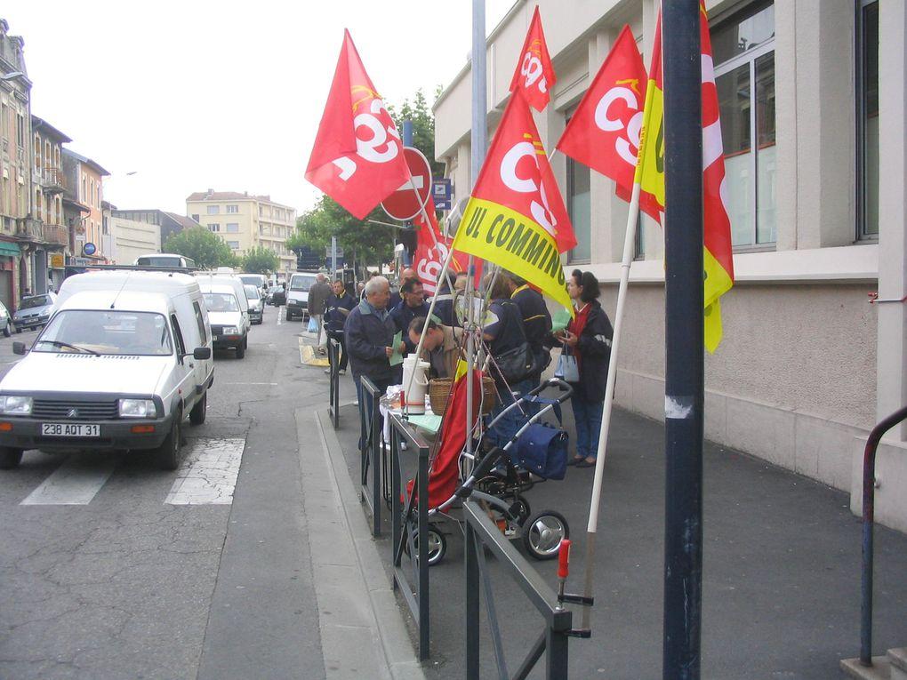 Une descente aux Enfers après l'instauration de facteur d'avenir à Saint-Gaudens. Plus de 90% du personnel était en grève ce jour là !