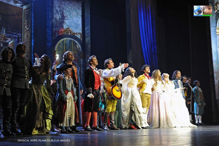 Tournée de la comédie musicale 1789 Les amants de la Bastille.Les coulisses du spectacles au Zenith de Rouen. ©Photos Pascal BARIL/Planète Bleue Images
