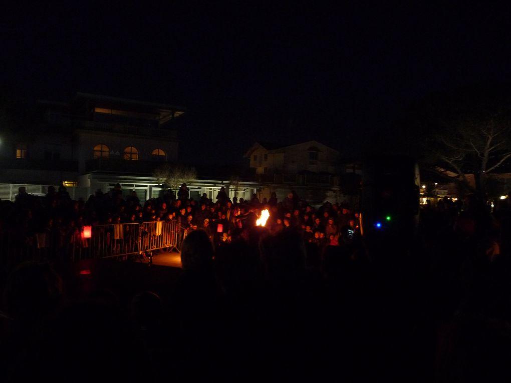 Album - Noël 2011 à Andernos : Défilé de bougies et Danses de Feu