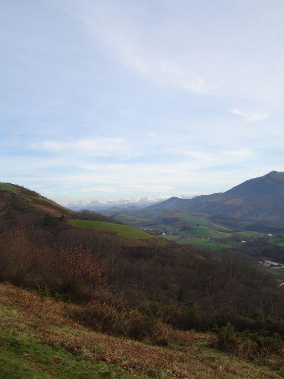 paysages rencontrés à l'occasion d'une randonnée ou tout simplement la vue de chez moi ...