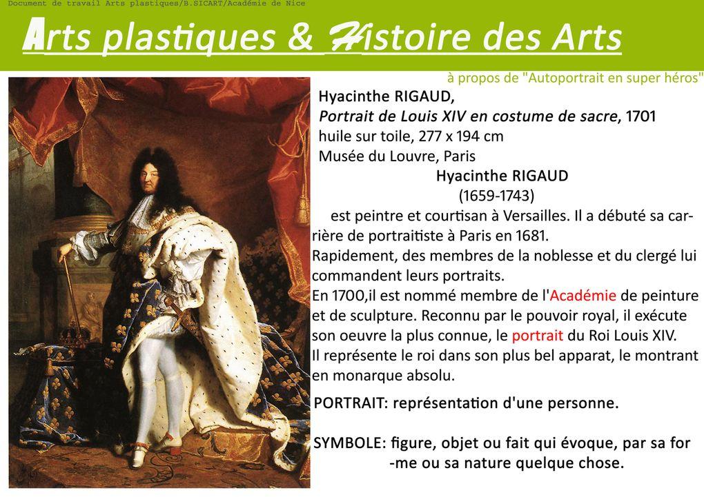 Incitations et fiche cours pour la Classe de 5°/ Image,oeuvre et fiction
