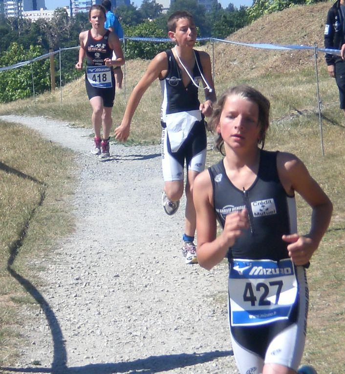 """pour le retour du triathlon à La Roche, les jeunes ont répondu """"présents"""""""