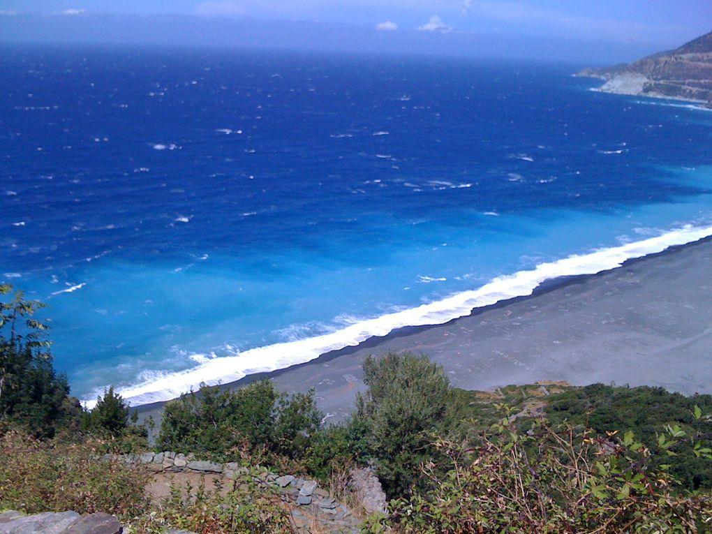 Séjour en Corse. Du bonheur ! et plein de souvenirs en couleur dans la tête.