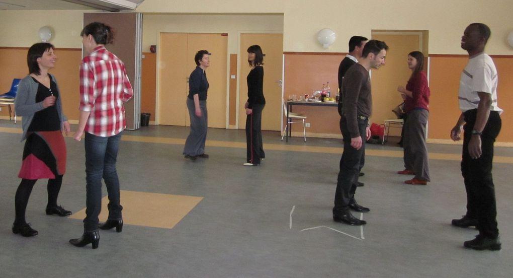 Stages de Bachata avec Giorgio ROD le 1er décembre 2012, de claquettes avec André le 12 janvier 2013 et le 2 mars, de Zumba avec Sévy le 5 janvier, à suivre.....