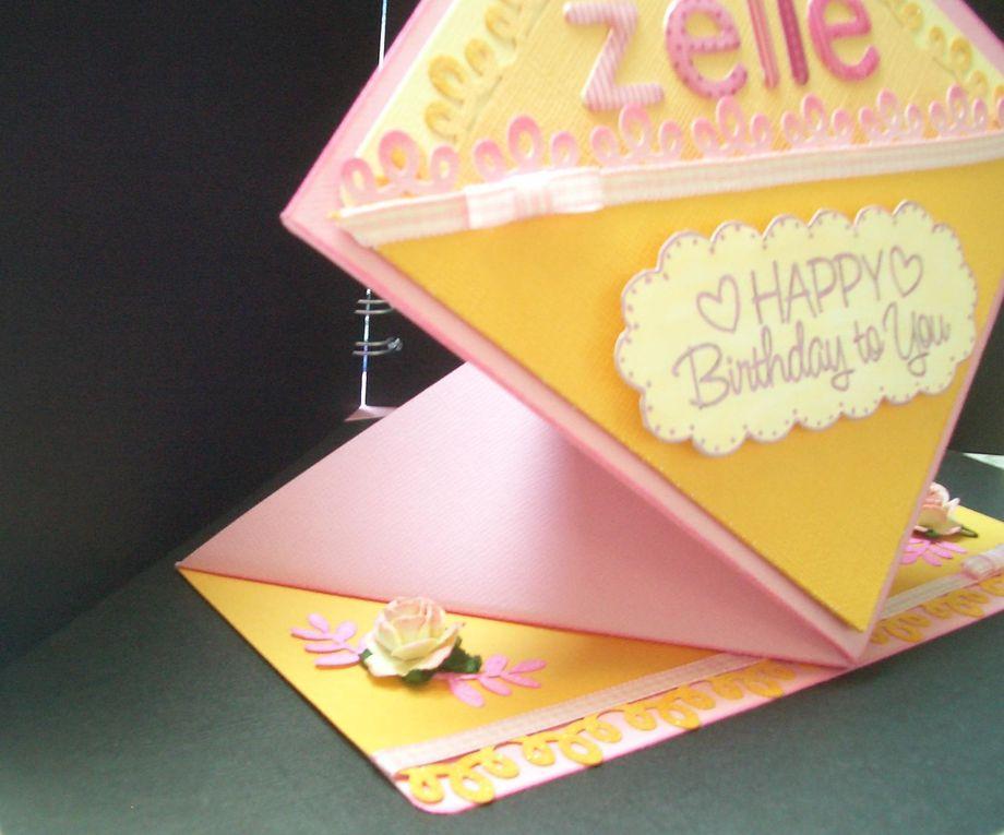 Carte d'anniversaire et invitations