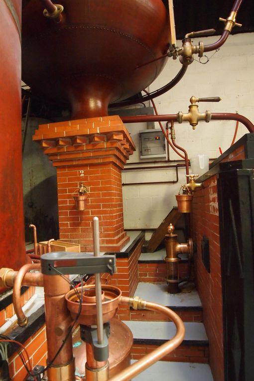 Février 2012, l'école de Touvérac visite la distillerie du Maine Laure...