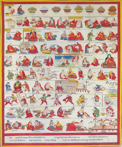 Tibetan Medical Paintings: Illustrations to the Blue Beryl Treatise of Sangye Gyamtso (1653-1705)- Edition Serindia