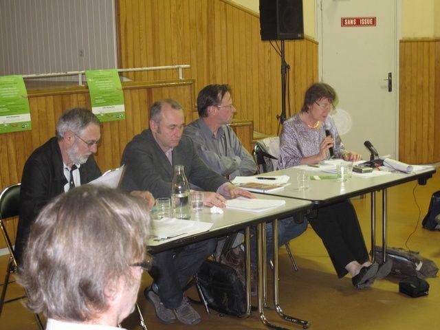 Conférence-débat sur les enjeux de la Directive CE Services organisée par EELV-Attac-AMD 15 avril 2011