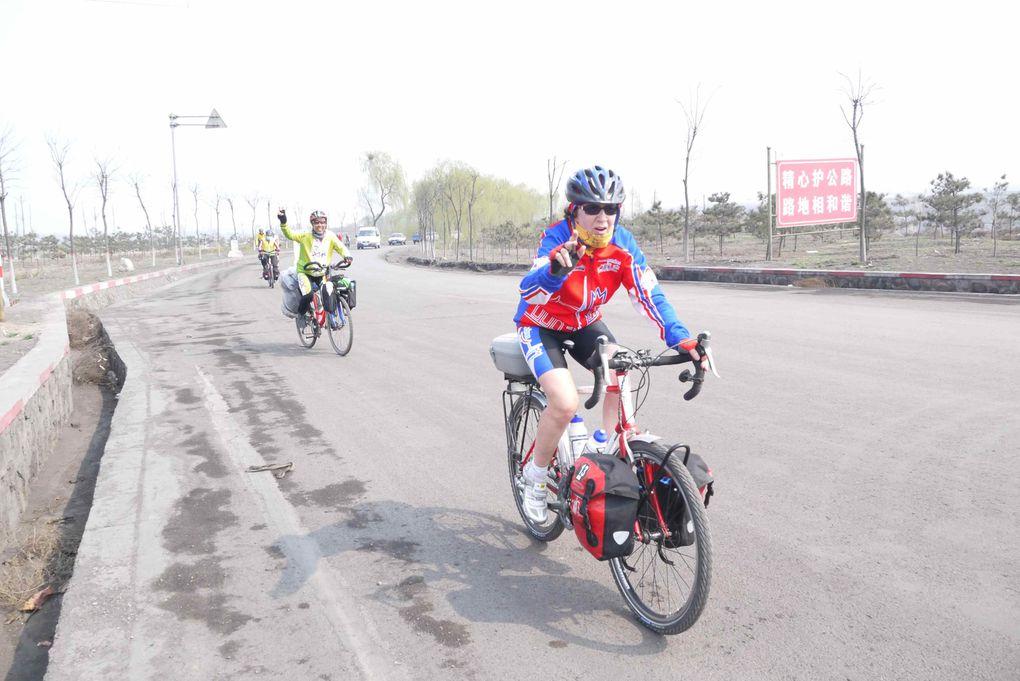 Première semaine en Chine : Yixian, Lai Yuan Xian, Ling Qiu, Tai Huan Zhzn, Zinzhou, Tai Yuan, Ping Yao, Huo Zhou.