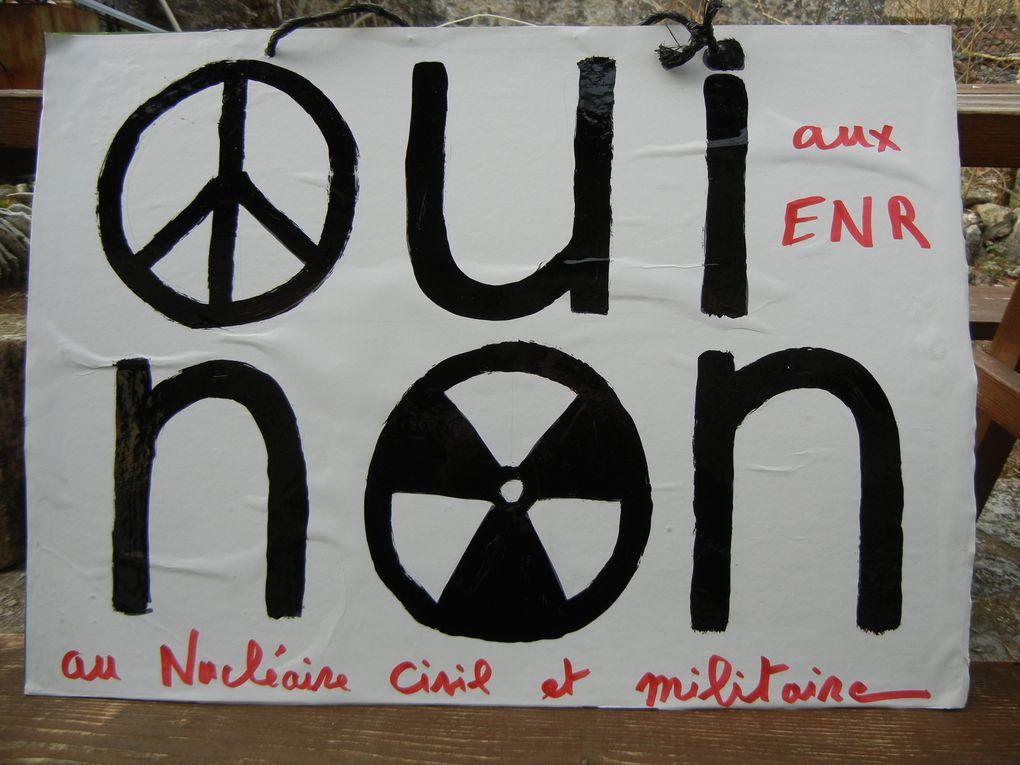 commémoration de la catastrophe de Fukushima le 11 mars 2O12