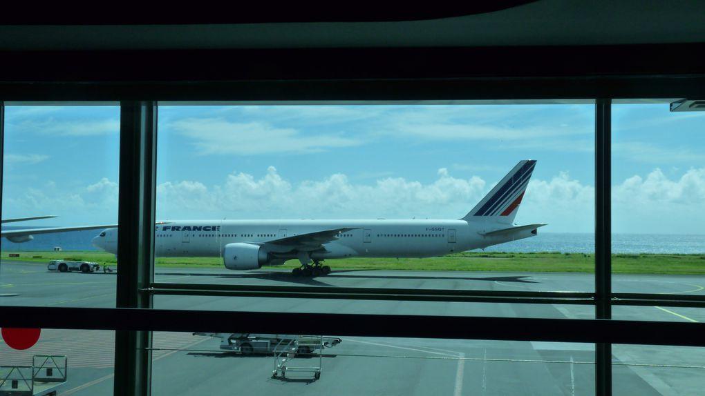 arrivée sur l'île de la Réunion / accueil au collège de La Montagne / visite de la ville de Saint Denis de la Réunion.