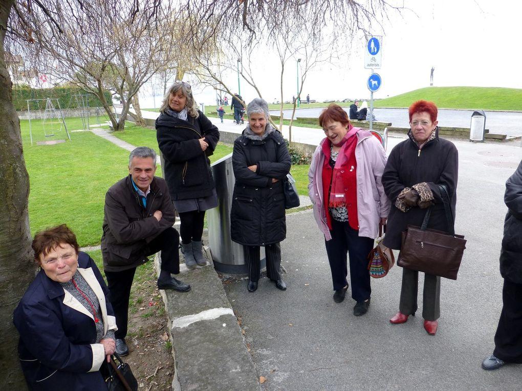 Quelques photos de notre sortie au concours de chorales à Montreux