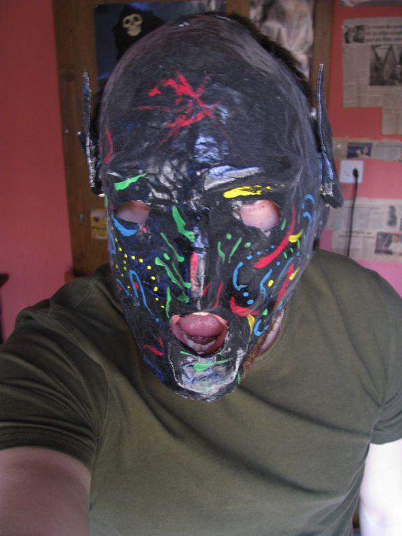 Album - Masques