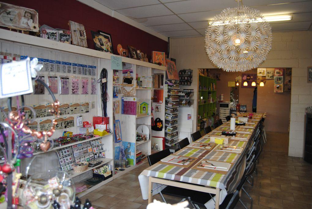 La boutique de la fée clochette tout pour l'art créatif, surtout pour le scrapbooking, perles, fimo, peinture, supports en bois, feutrine,...
