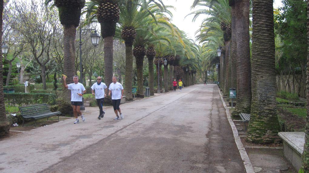 """In occasione della Giornata Mondiale contro il Diabete, tra altre manifestazioni sportive, si è svolta la gara individuale di fitwalking """"100 km del Passeggiatore"""" e una Staffetta 100 km contro il diabete in cui ogni partecipante ha corso per 5 km."""